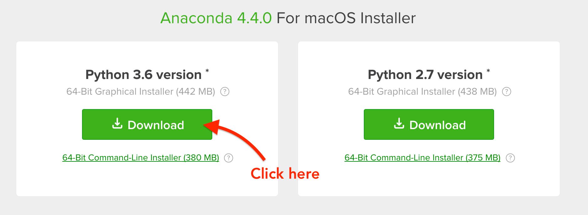 anaconda python download