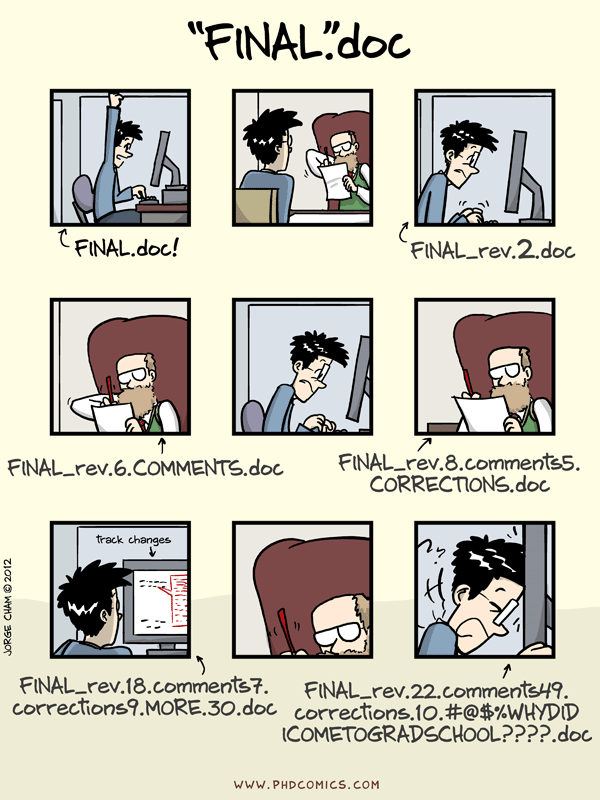 Motivation for version control